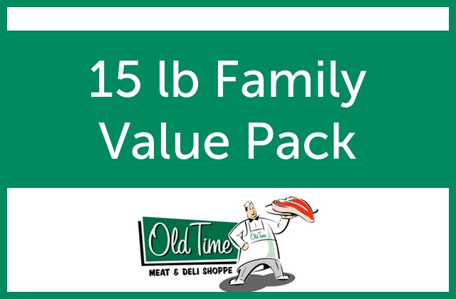 15 lb Family Value Pack